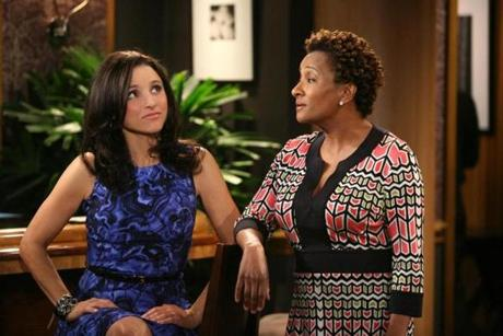 "Louis-Dreyfus alongside Wanda Sykes on ""The New Adventures of Old Christine."""